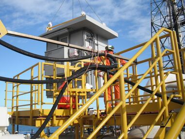 GRP shelters provide advanced protection for offshore process analyzers